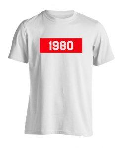 1980 white T-Shirt