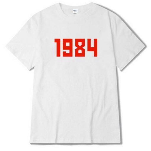1984 White tees