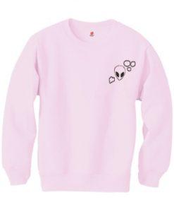Alien Pink Sweatshirt