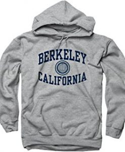 BARKELEY CALIFORNIA GREY HOODIE