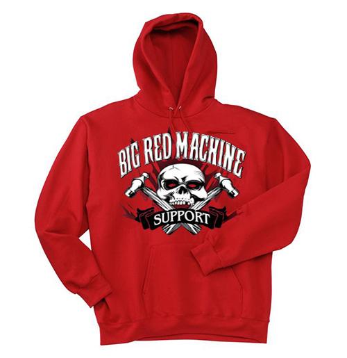 Big red machine hoodie