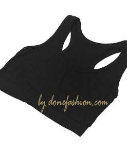 Black female Gym tank Top