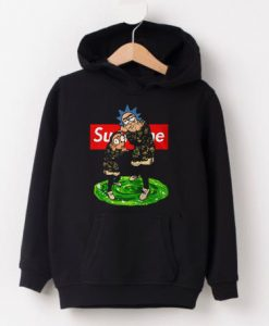 Supreme rick and morty Hoodie