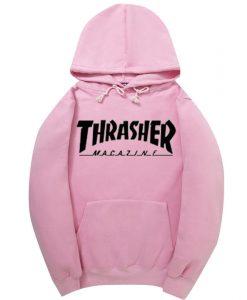 Thrasher magazine Hoodie Pink