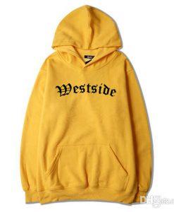 Westside Pullover Yellow Hoodie