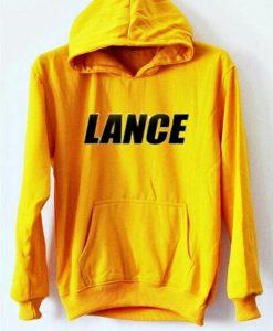 Yellow Lance logo  Hoodie