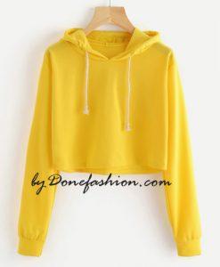 Yellow Shorts Hoodie
