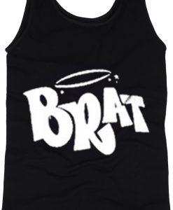 brat black tanktop