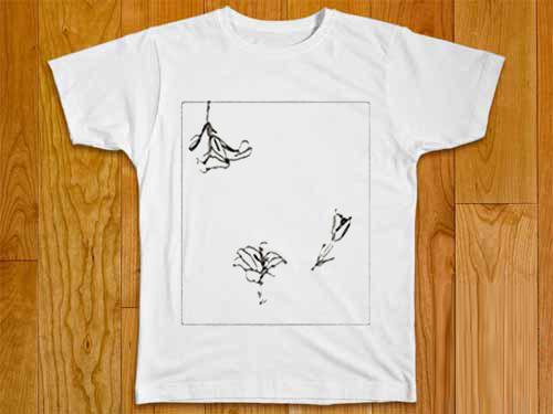 Flower Line Art T-Shirt