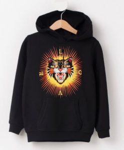 Love Tiger Sun Hoodie