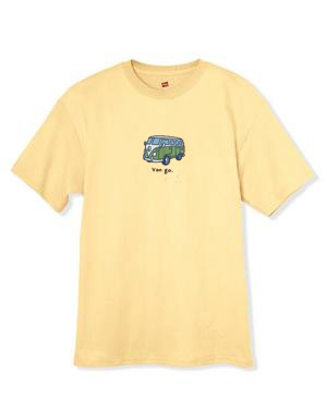 Van Go VW Yellow shirts