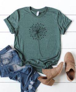 Dandelion Make a Wish Women's T-Shirt