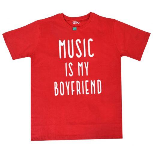 Musicc Is My Boyfriends T shirts