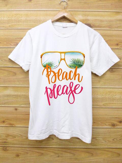 BEACH PLEASE T-shirt Unisex