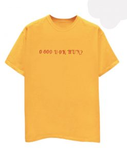 0 800 U Ok Hun yellow T Shirt