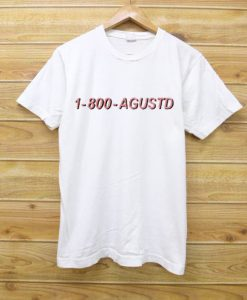 1 800 Agustd New white t shirts