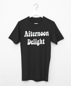 Afternoon Delight Black T-Shirt