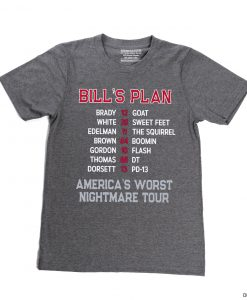 Bill's Plan Grey T-Shirt