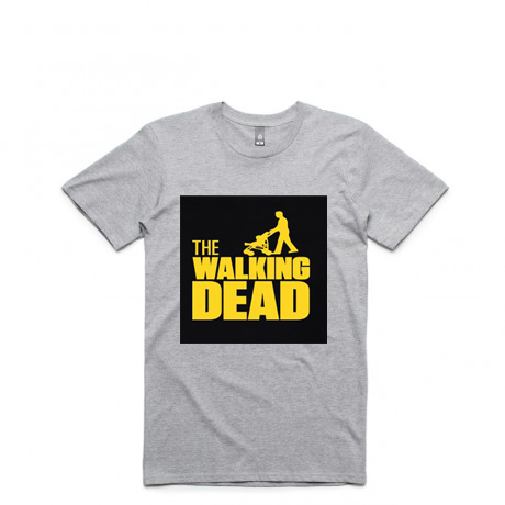 The Walking Dad Fathers Day Gift Grey Tees