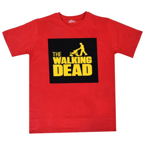 The Walking Dad Fathers Day Gift Red Tees