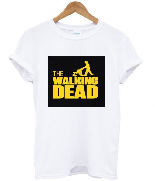 The Walking Dad Fathers Day Gift White Tees