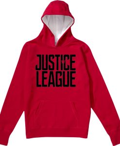 Justice League Exclusive red hoodie