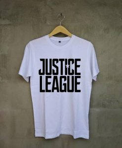 Justice League Exclusive white t shirts
