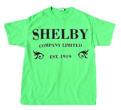 Shelby Company green t shirts