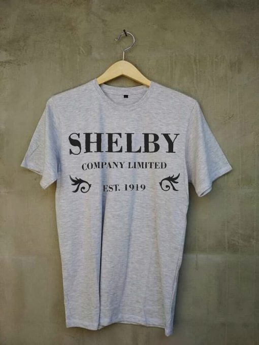 Shelby Company grey t shirts