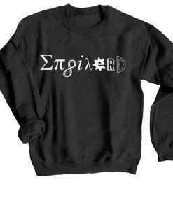 123t Men's Enginerd Black Sweatshirts