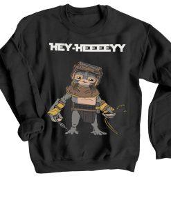 Babu Frik Hey Black Sweatshirts
