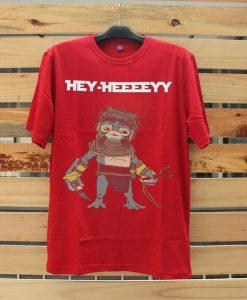 Babu Frik Hey Red T-shirt