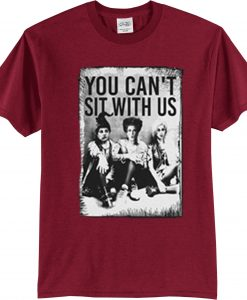 Sanderson Sisters Maroon T shirts