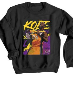 Kobe Bryant 24 Lakers Black Sweatshirts
