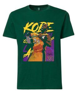 Kobe Bryant 24 Lakers Maroon T-Shirt